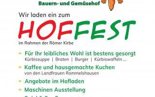 Hoffest Haap, 20.10.2019