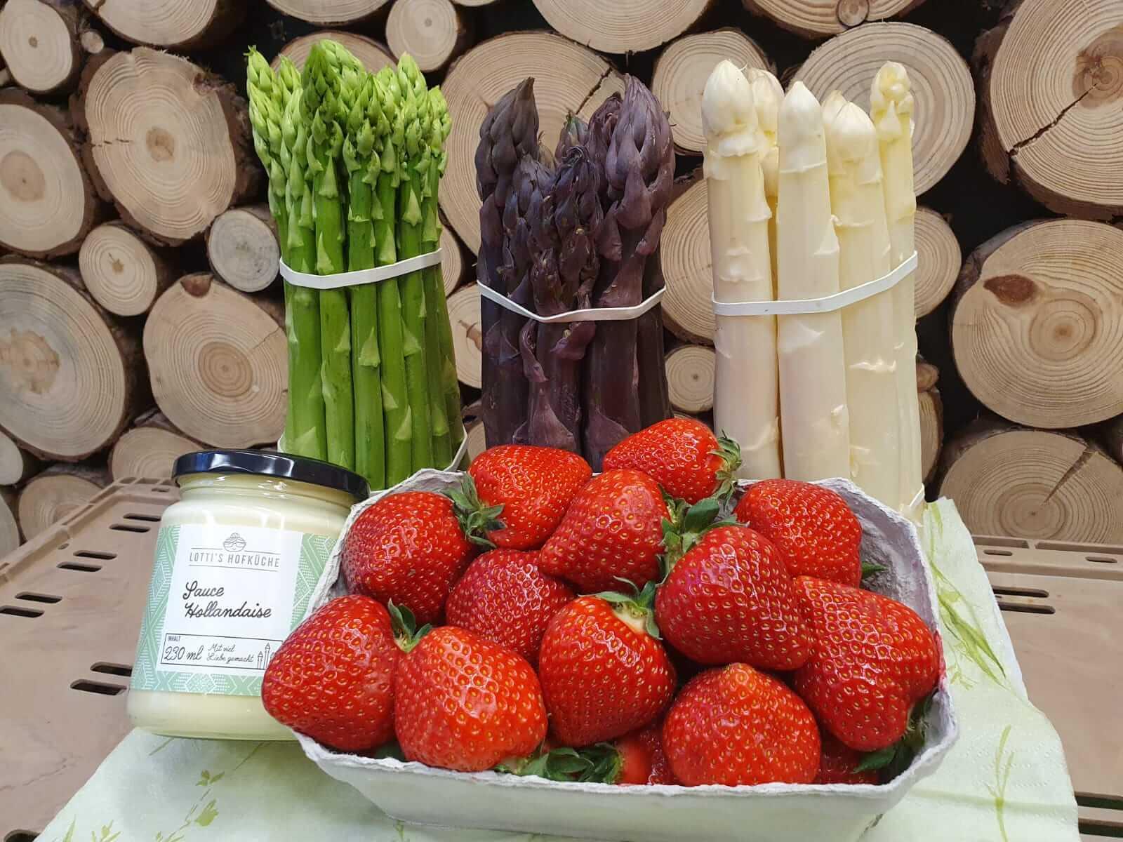 Hofladen Haap, Spargel und Erdbeeren aus der Region