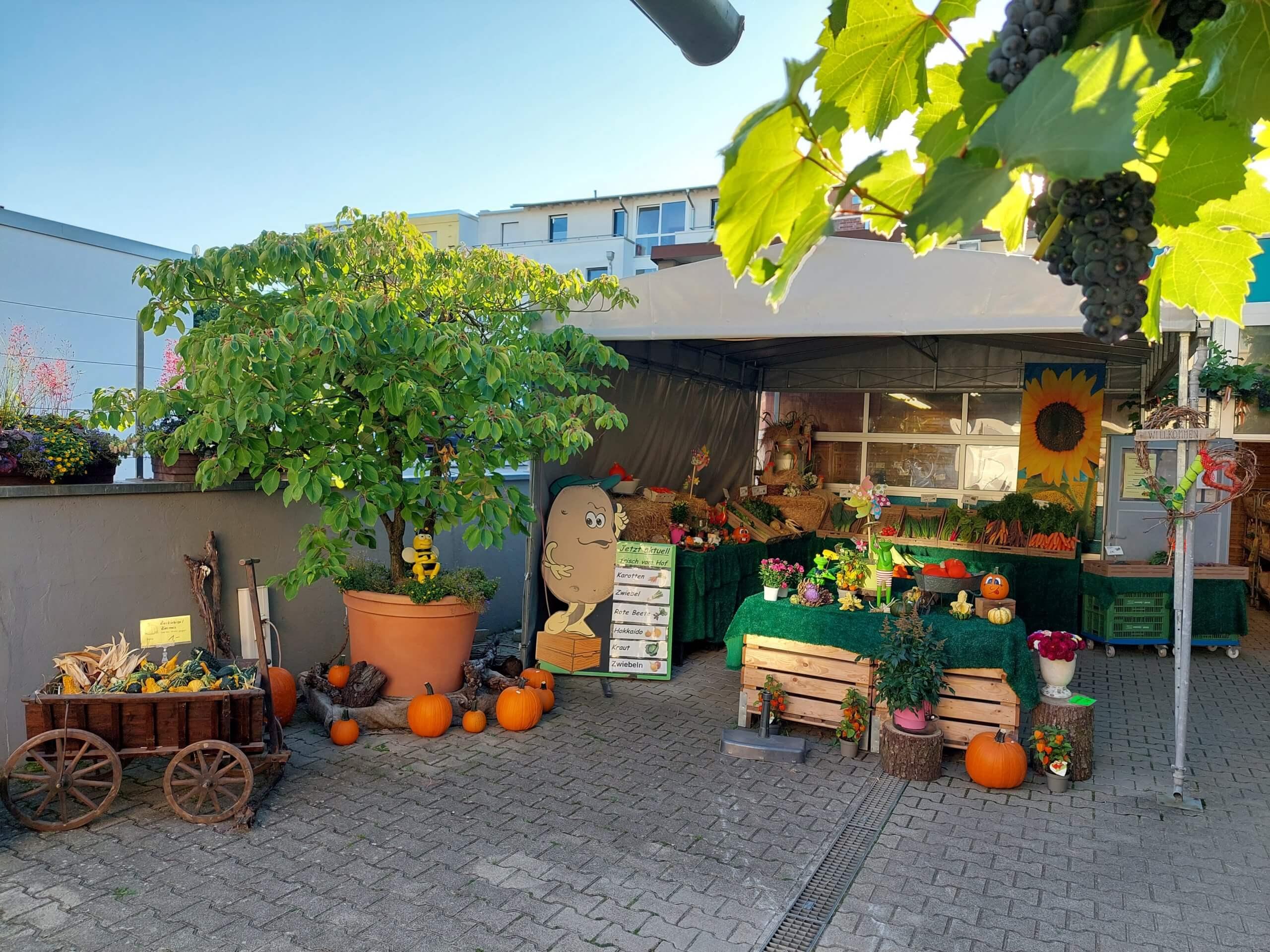 Eingangsbereich Hofladen Haap